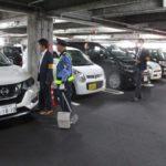 広島市内2店舗の駐車場巡回活動を実施~中国遊商