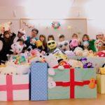 めいほうG、福祉施設でクリスマス会開催