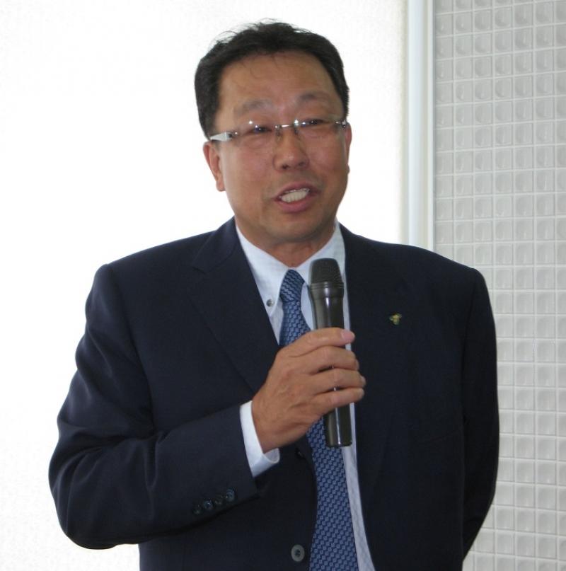 梁川誠市理事長