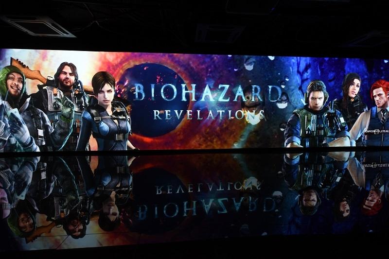 巨大なスクリーンでは同機のPVなどが映し出された。