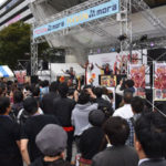 『花慶X』導入記念、中野文化祭で傾奇ライブ