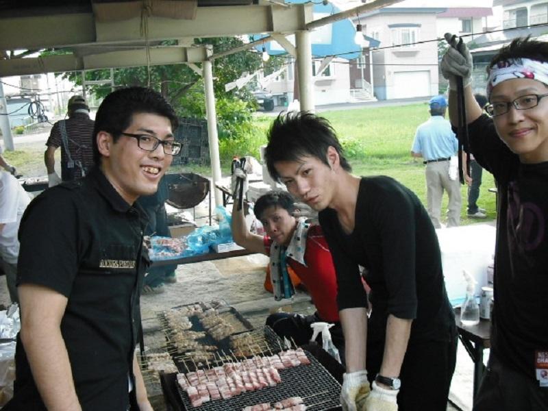 ダイナム帯広店『東陽夏祭り』への協賛。