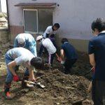 中国遊商が広島市で瓦礫、土砂の撤去