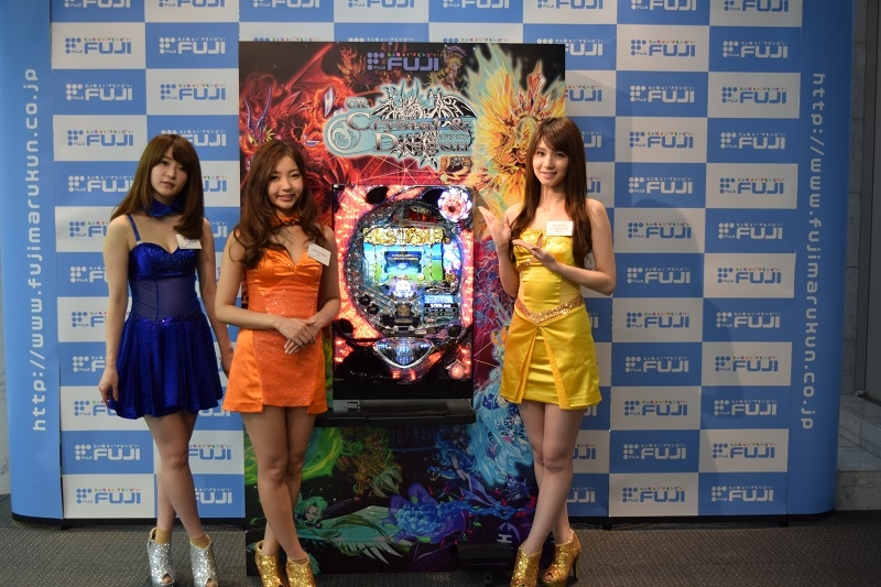 『CRAクリスタル&ドラゴン』の発表を彩る新FUJI★GIRLs