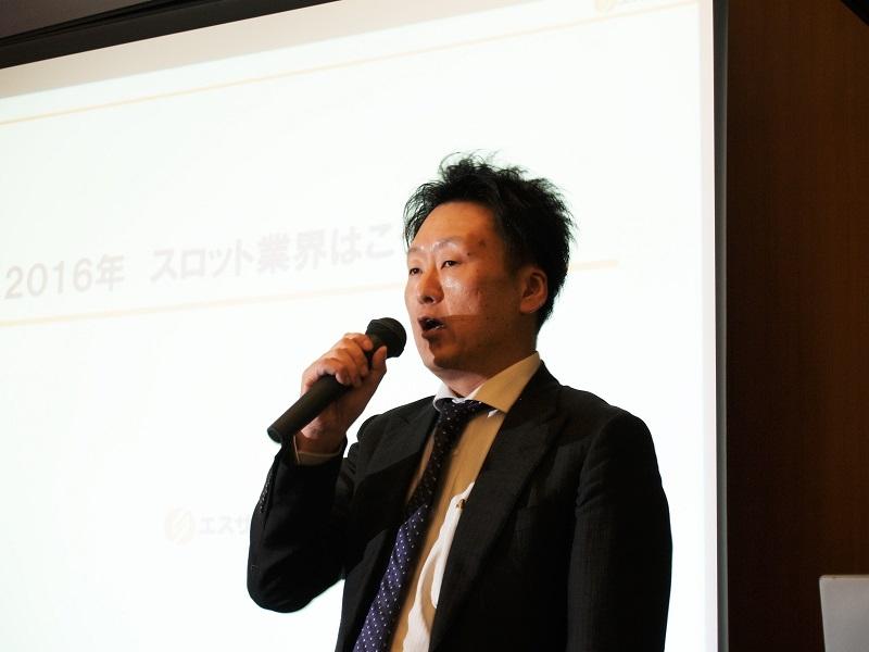 エスサポートの三木貴鎬代表取締役。