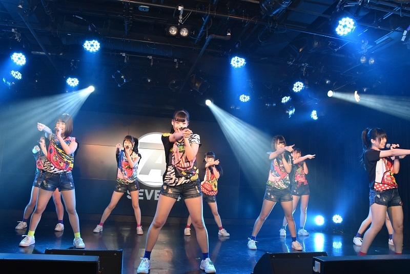 「SEVEN4」によるステージでは、同機に収録された新曲「音速DI-VA」を含む2曲が披露された。