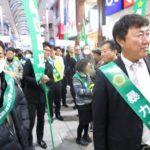 中国遊商、暴追を訴える街頭パレードに参加