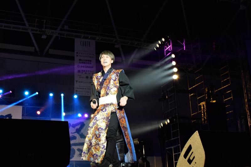 初参加となった大西洋平さんもパワフルなステージを披露。