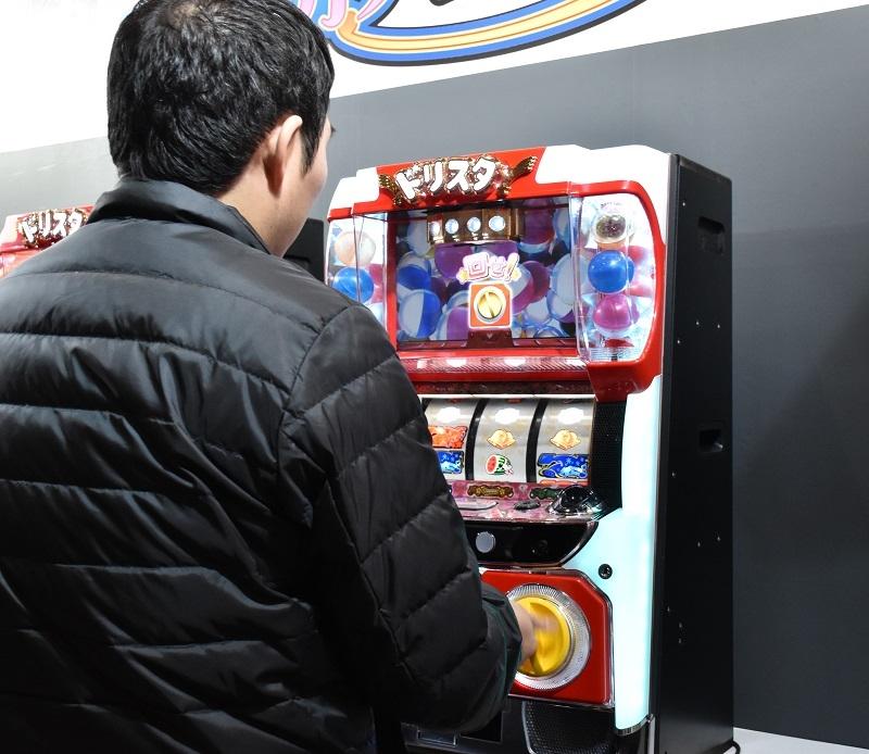 ネットは3月導入予定のパチスロ新機種『ドリスタせかんど』を使ったミニゲームなどを実施した。