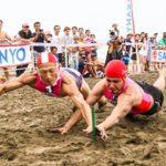 三洋ライフセービング大会を南国・宮崎で開催