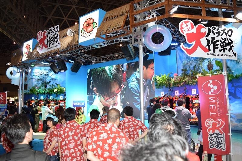 ネットブースでは来場者参加型のイベントを開催し、ファンと一体となって会場を大いに盛り上げた。