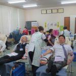 中部遊商、9年目の献血サポーター活動