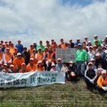 日遊協、仙台でクロマツ3,000本の植林を実施