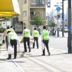 回胴遊商中国・四国支部、広島駅周辺を清掃活動