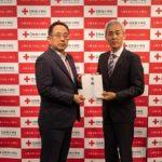 ダイナム、日本赤十字社に4,022万円を寄託