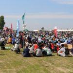 全商協、千年希望の丘植樹祭に38名派遣