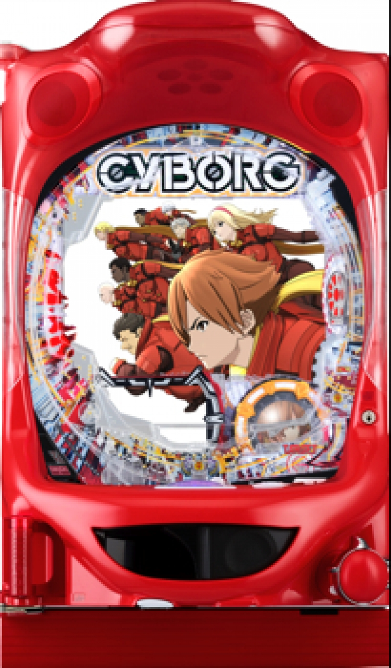『CR CYBORG009 CALL OF JUSTICE』