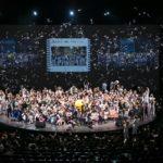 スタッフと家族、総勢1500人超で社員大会