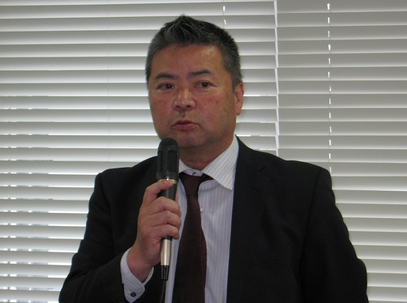 日本遊技機工業組合 中川尚也理事・事務局長