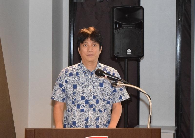 西村直之氏が依存問題を理解するための講話を行った。