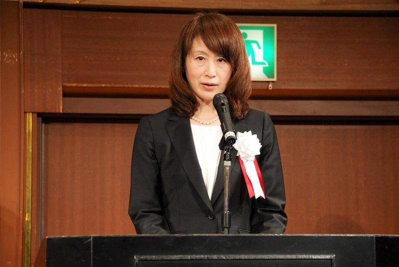 再任され2期目と入る森口司理事長。