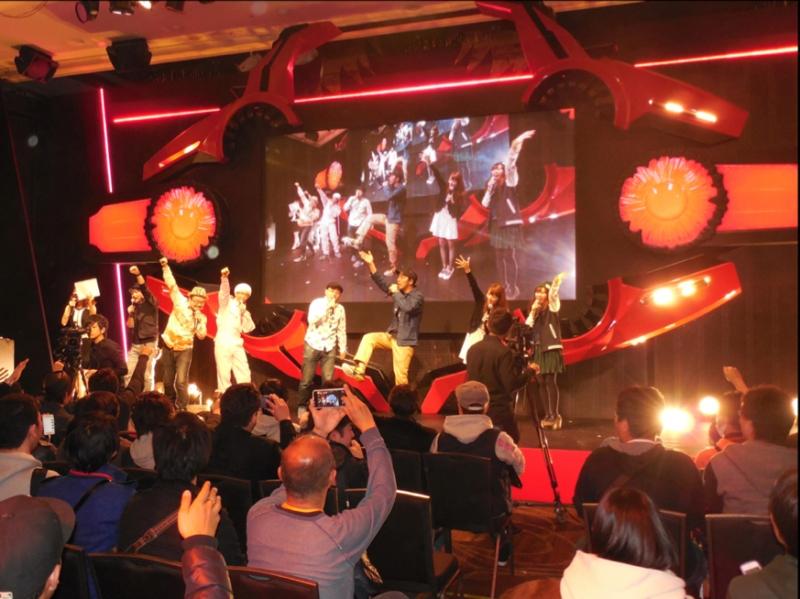 先行試打ファンイベント「神喰祭」には攻略ライター7名が駆けつけイベントを盛り上げた。