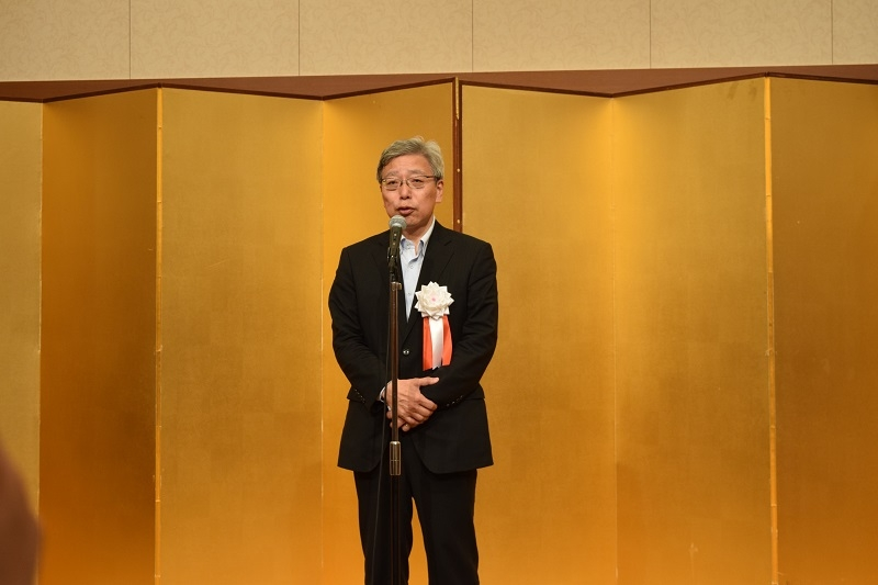 田中幸也理事長。