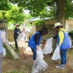 関西遊商、浪速公園で清掃活動