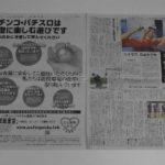 21世紀会が大手新聞2社に全面広告