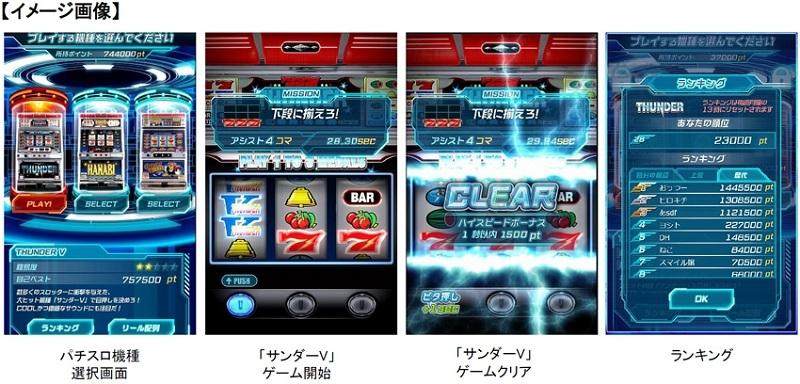 ゲーム画面のイメージ。