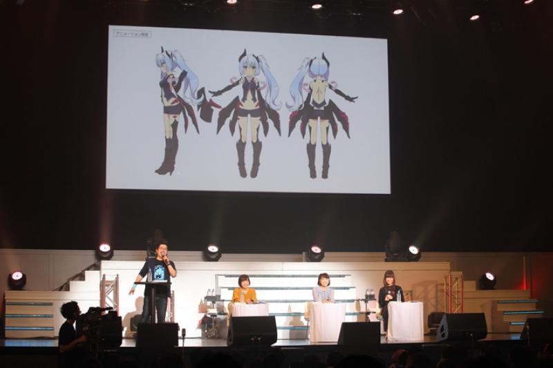 トークパート後半でお披露目された新キャラクター「ノル」。