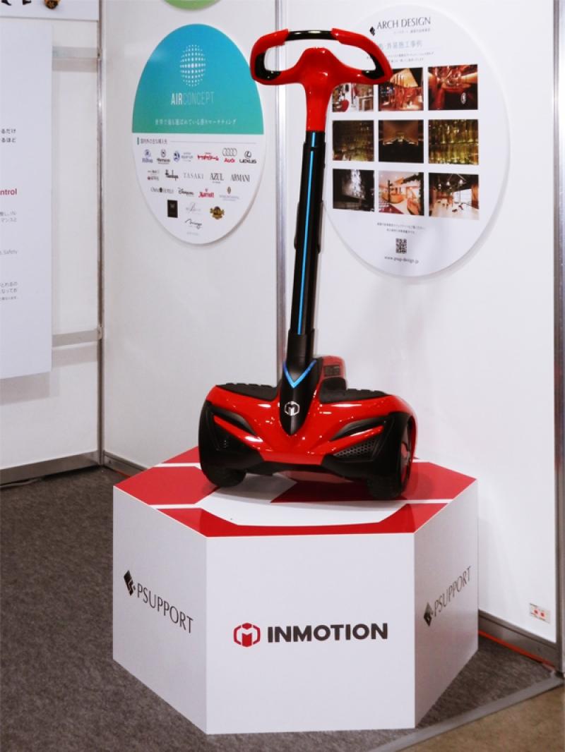 貸し出しサービスなどのイベント活用を提案した『INMOTION SCV』。