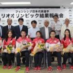 フェンシング日本代表がNEXUSで五輪報告会