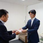 チャリティ金55万8965円を寄贈~北海道