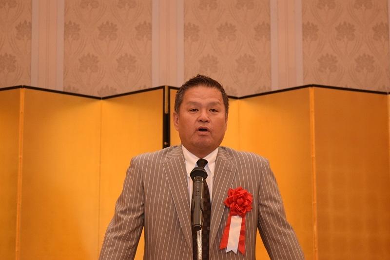 記念講話ではフジテレビ野球解説者の金村義明氏が「我が野球人生、果報は動いてつかむ」と題し約1時間半熱弁した。
