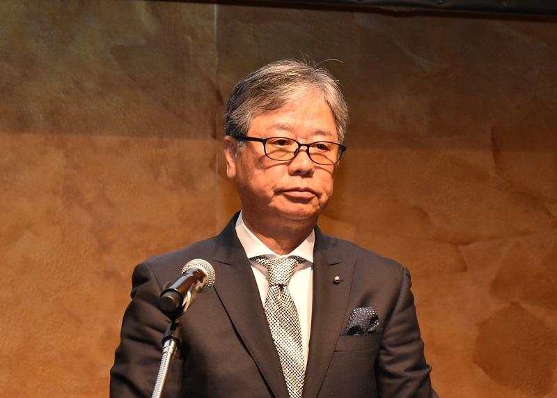 一般社団法人の設立に意欲を示した中村昌勇理事長。