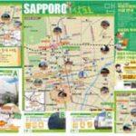 外国人向けP店案内観光マップ配布が開始!