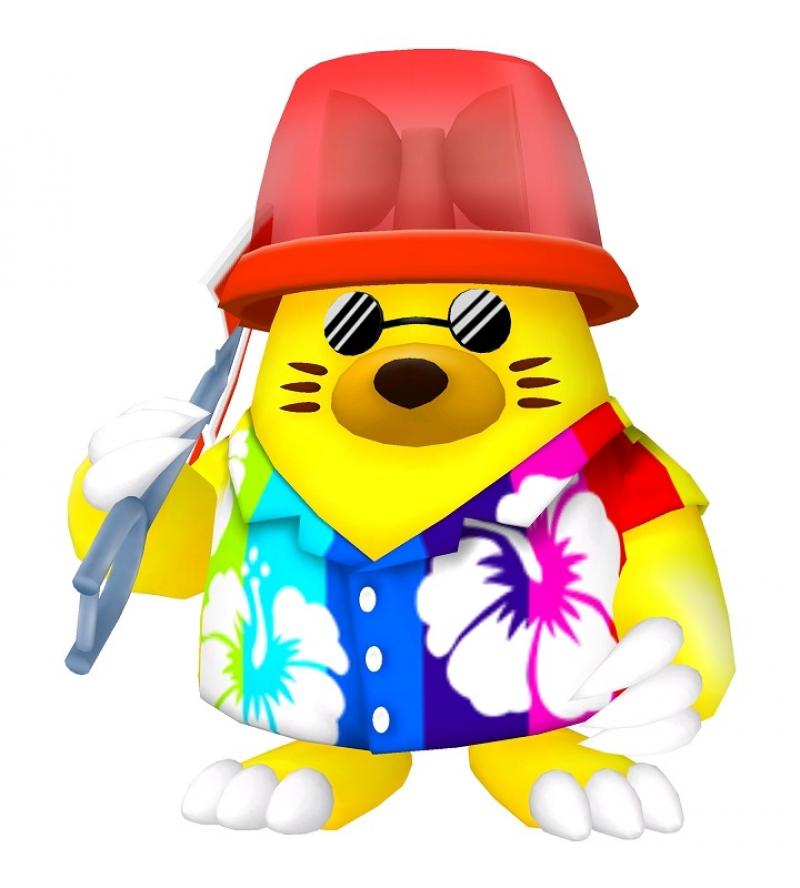 わんわんパラダイスだけに登場するプレミアムキャラクター「モグラッキー」。是非出会ってみたいキャラクターだ。