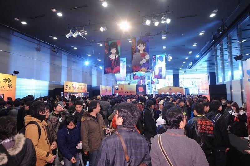 「地獄ライブ」と題してゲストの椎名さん、森永さんによるライブステージやトークショーなども行われ、会場は多くのファンで賑わった。