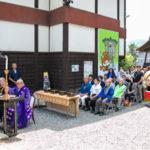 ニューギンが今年も前田慶次供養祭に参列