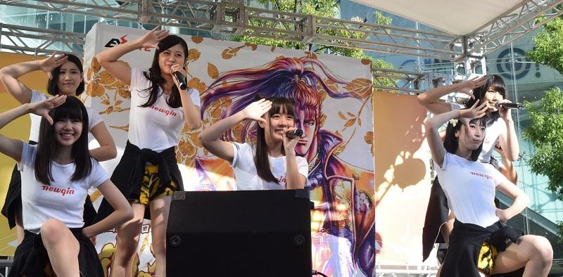 アイドルグループ「Tokyo Cheer2 Party」もステージを彩った。