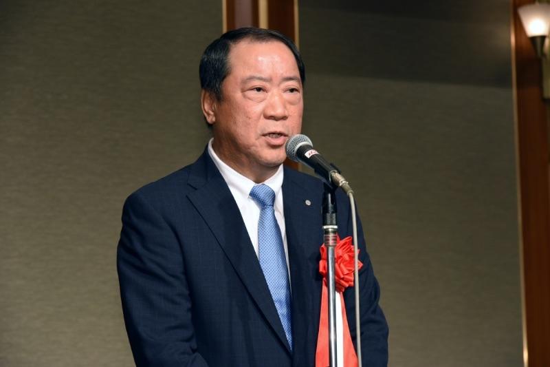 日工組の金沢全求理事長は検定機と性能が異なる可能性のある遊技機を出してしまったことに改めて謝罪した。