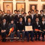 地域への恩返し、北沢遊技場組合が福祉車両寄贈