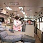 献血活動に105名が参加~中国遊商