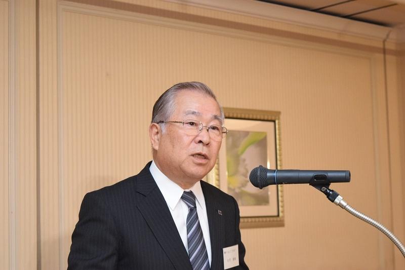 6年間理事長職を務めあげた古宮重雄前理事長。