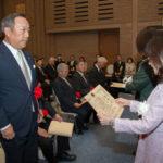成通グループ、防衛大臣から感謝状を受贈