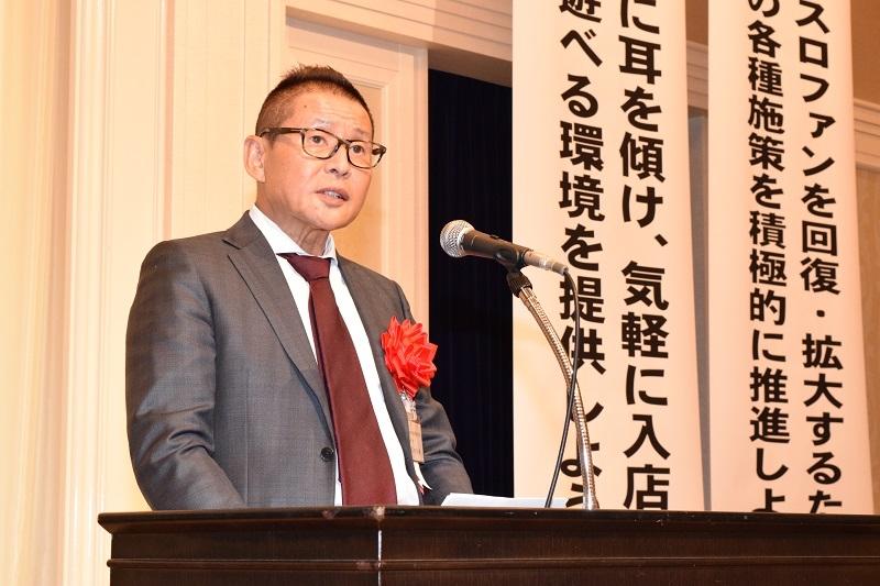 3月の理事会で選任された冨田直樹理事長。