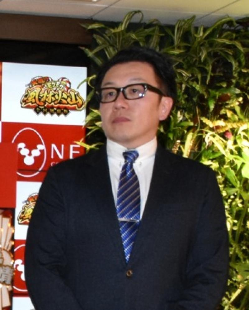 山本文夫取締役営業本部長兼営業開発推進室室長は新体制の説明と「レンタルプラン」についての説明を行った。