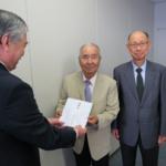 大阪福祉防犯協会が西日本豪雨災害に義援金