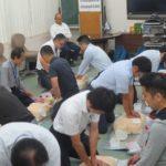 中部遊商、7回目の救急救命講習を実施